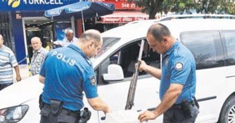Polisten antika tüfek operasyonu