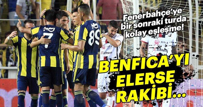 Son dakika: Fenerbahçe, Benfica'yı elerse rakibi belli oldu