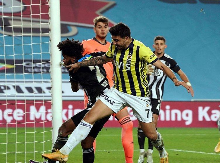 Fenerbahçe - Beşiktaş derbisinde gergin anlar! Ozan Tufan, Rosier ve Volkan Demirel...