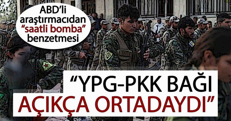 ABD'li araştırmacıdan YPG/PKK-ABD ilişkisine saatli bomba benzetmesi