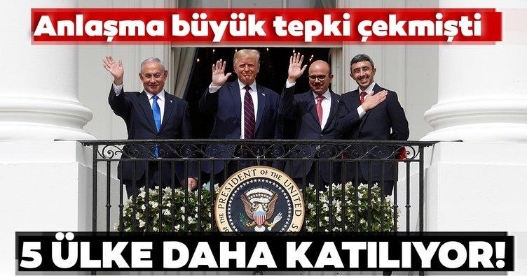 ABD tepki çeken 'İsrail' anlaşmasına 5 ülkenin daha katılacağını açıkladı