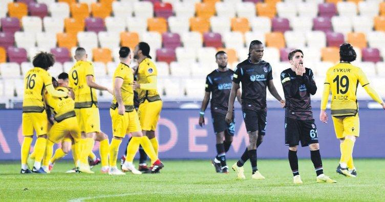 Trabzonspor, Malatya'da dağıldı
