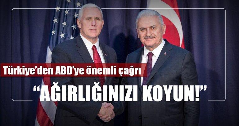 Başbakan Yıldırım, ABD Başkan Yardımcısı ile görüştü