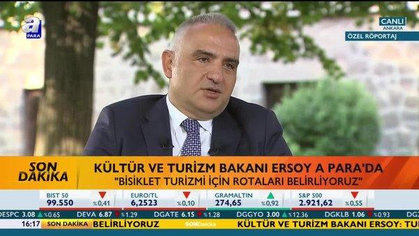Bakan Ersoy'dan A Para'ya özel açıklamalar