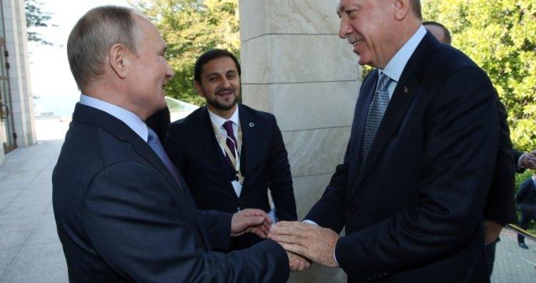 Putin Başkan Erdoğan'ı kapıda karşıladı! Siz...