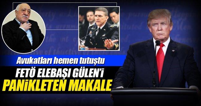 O makale, Gülen'in avukatlarını korkuttu