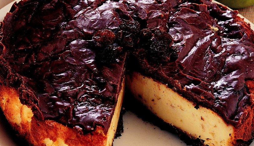 Elmalı Çikolatalı Cheesecake