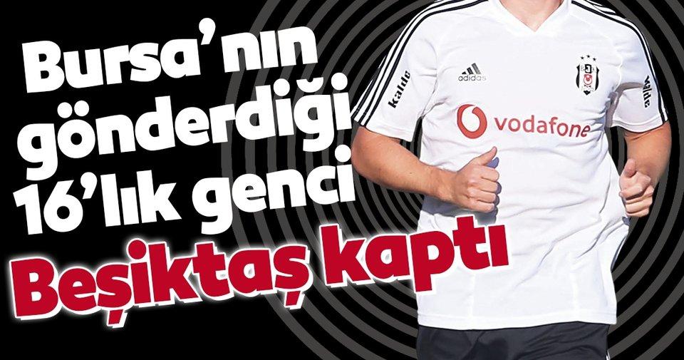 Bursaspor'un gönderdiği Yiğit Şengil'e Beşiktaş'tan davet!