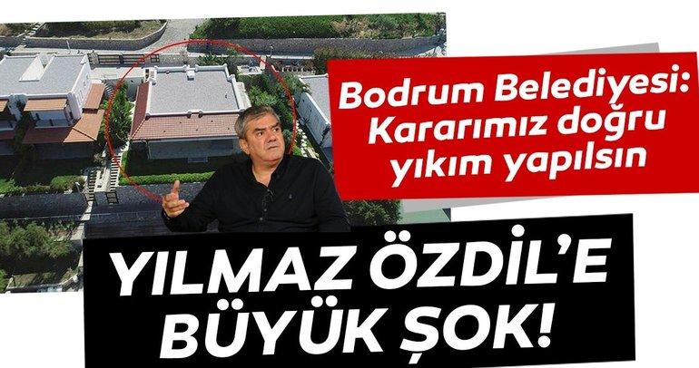 Bodrum Belediyesi: Kararımız doğru, yıkım yapılsın