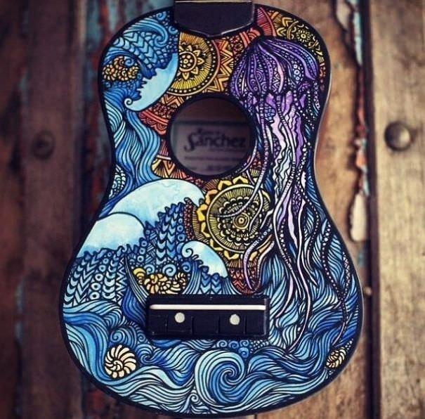 Gitara işlenen sanat