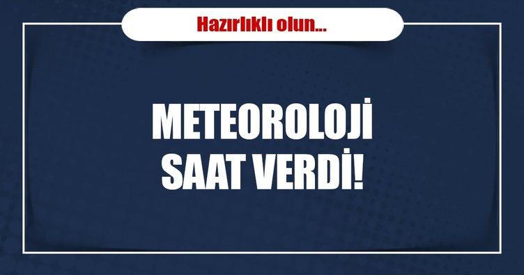 Bugün hava durumu nasıl olacak? Meteoroloji açıkladı...