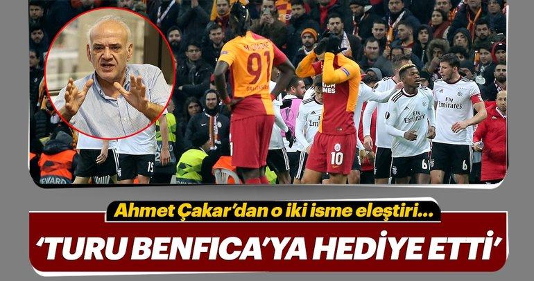 Ahmet Çakar: 'Galatasaray için tur çok zor'