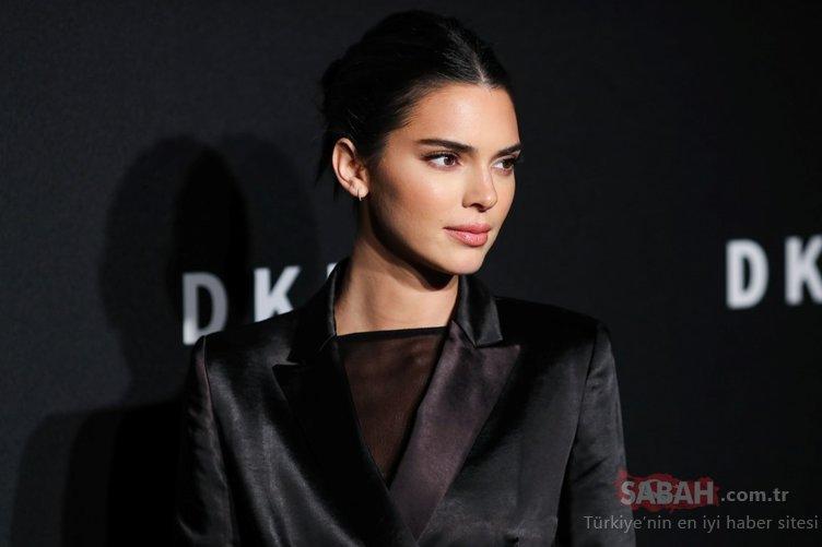 Ünlü model Kendall Jenner değişimi ile hayranlarını şoka uğrattı! Kendall Jenner sarışın oldu...