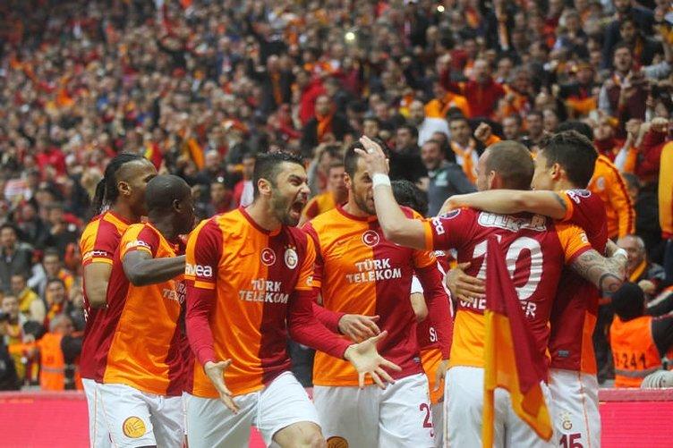 Galatasaray - Fenerbahçe maçından fotoğraflar