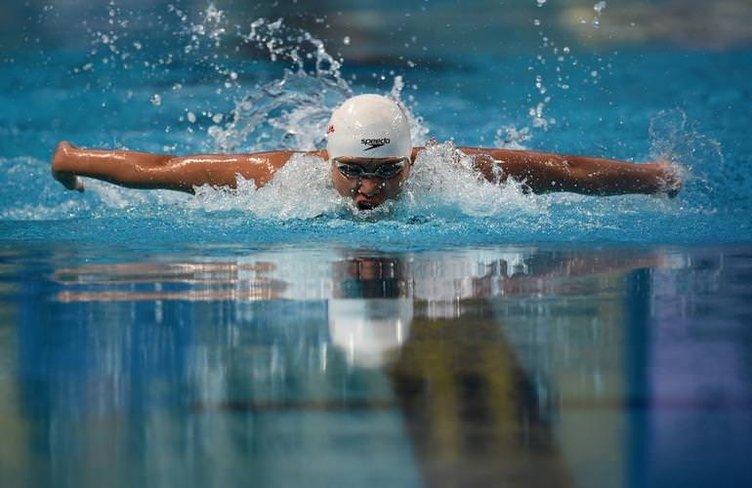 Dünya yüzme şampiyonası'ndan renkli kareler