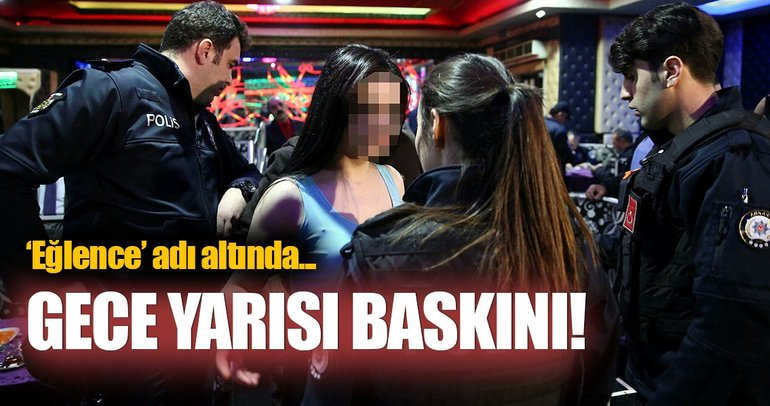 Ankara'da fuhuş operasyonu
