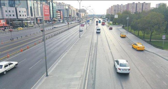 Bayramda yollar boşaldı İstanbullu memnun