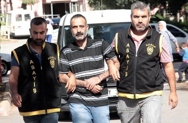 Firari hükümlü polisten kaçamadı