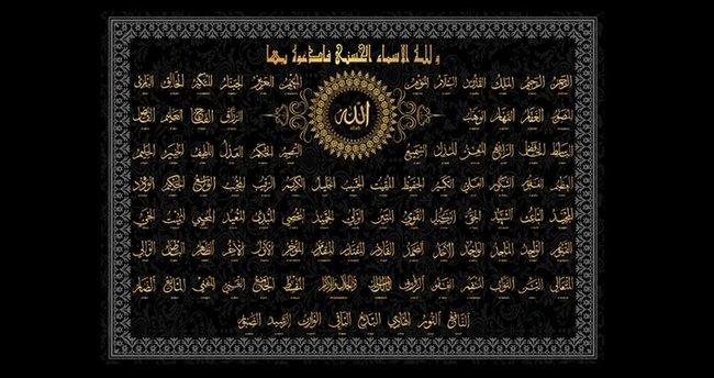 ESMAÜ'L HÜSNA Allah'ın 99 İsmi Oku - Allah'ın İsimleri ve Türkçe Anlamları