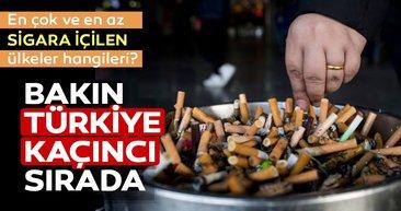 İşte dünyada en çok ve en az sigara içilen ülkeler?