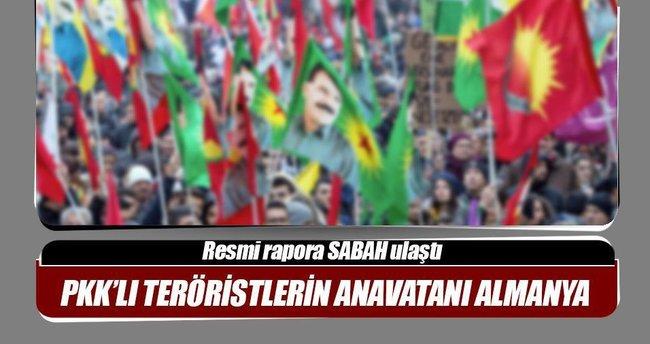 PKK'lı teröristlerin anavatanı Almanya