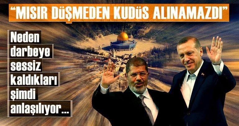 """Mısır düşmeden Kudüs alınamazdı!"""