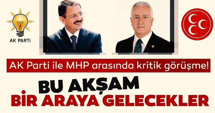 AK Parti ile MHP arasında kritik görüşme bu akşam