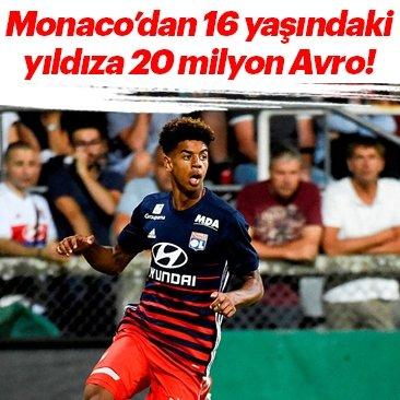 Monaco'dan 16 yaşındaki Willem Geubbels'e 20 milyon Avro