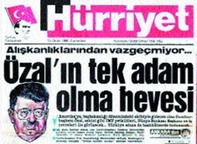 Turgut Özal'ın ölümünün 23. yılı
