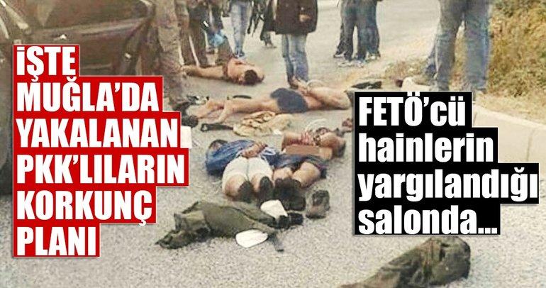 FETÖ'cü suikast timinin yargılandığı salona canlı bomba saldırısı son anda önlendi