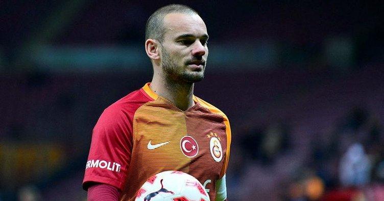 'Sneijder ön kapıdan çıkmak istiyor'