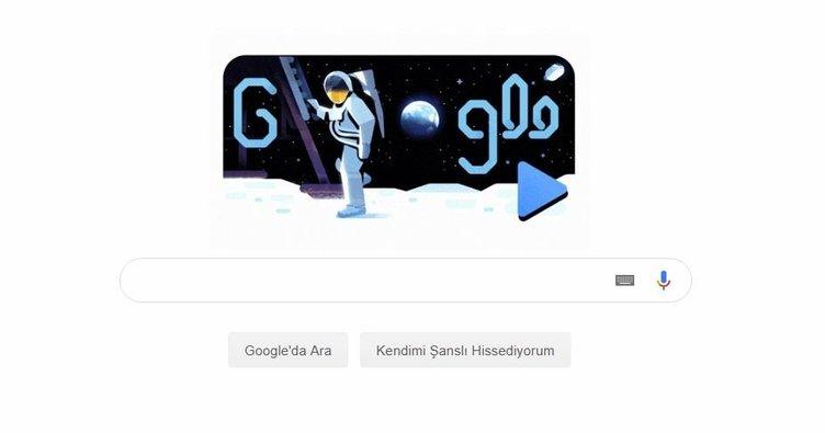 Ay'a inişin 50.yıl dönümü Google doodle oldu! İşte Google'dan Apollo 11 doodle sürprizi!