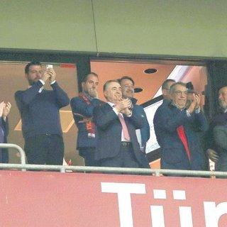 Başkan çok mutlu
