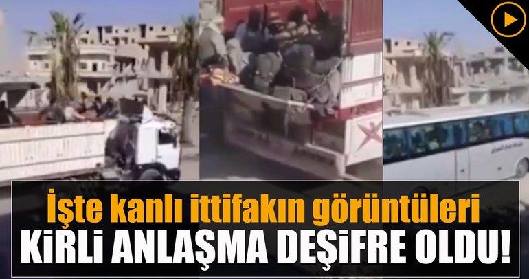 ABD-YPG korumasında DEAŞ'lı teröristlere tahliye
