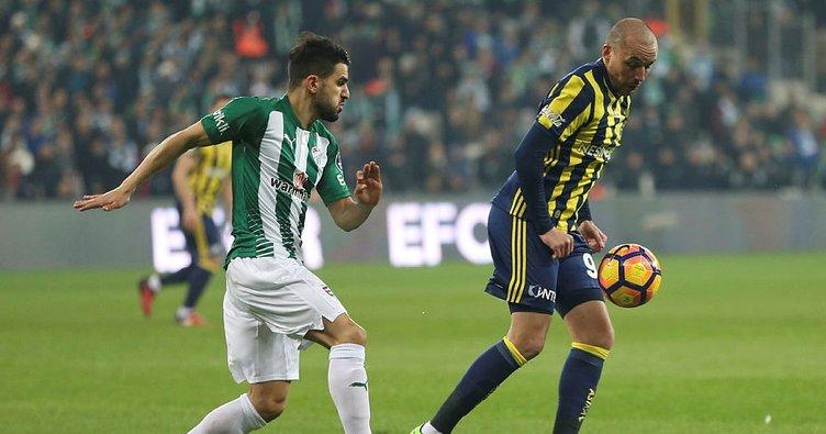 Bursaspor - Fenerbahçe 97. kez...