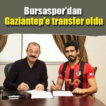 Bursaspor'dan Gazişehir Gaziantep'e transfer oldu