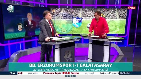 Erman Toroğlu BB Erzurumspor - Galatasaray maçındaki penaltıyı yorumladı!