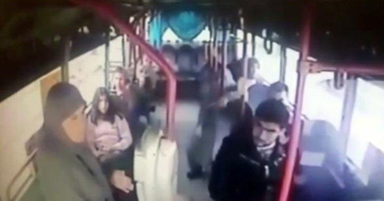 Otobüs şoförü şehit annesine hakaretten tutuklandı