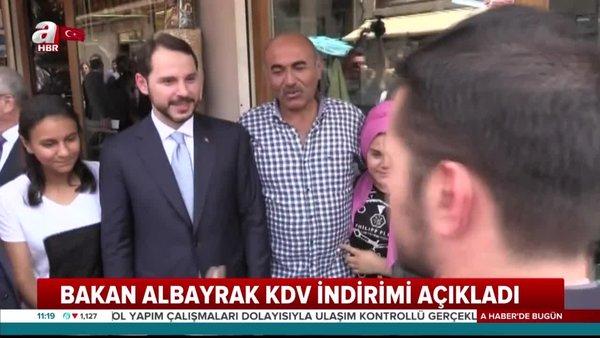 Son Dakika Haberi: Hazine ve Maliye BakanıBerat Albayrak'tan indirim müjdesi | Video