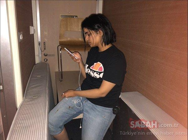 Havalimanı'nda alıkonulmuştu! 18 yaşındaki Suudi genç kız otel odasında...