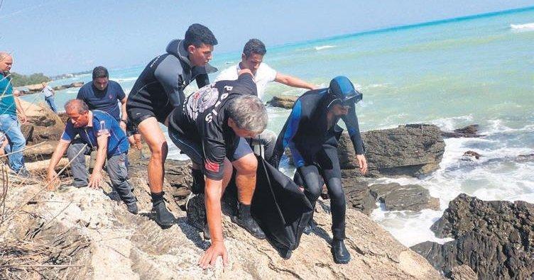 Deniz keyfi faciayla sonlandı