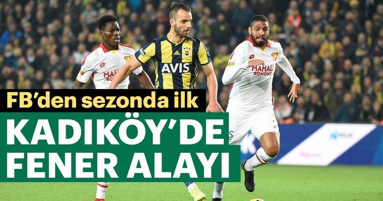 Fenerbahçe'den üst üste 2. galibiyet