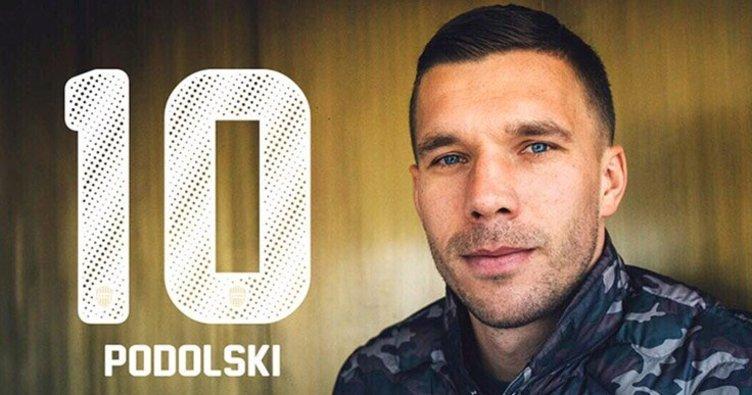 Vissel Kobe, Podolski'yi duyurdu