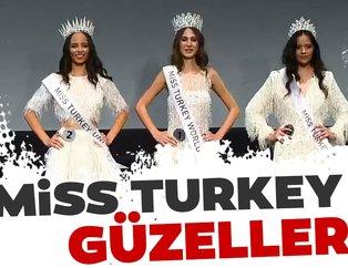 Miss Turkey 2019 güzelleri belli oldu! İşte Türkiye'nin en güzel kadınları...