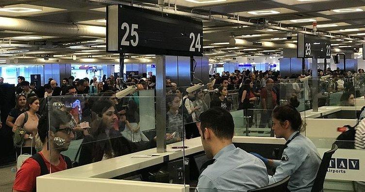 Turizme yönelik havalimanlarında 'bayram' bereketi