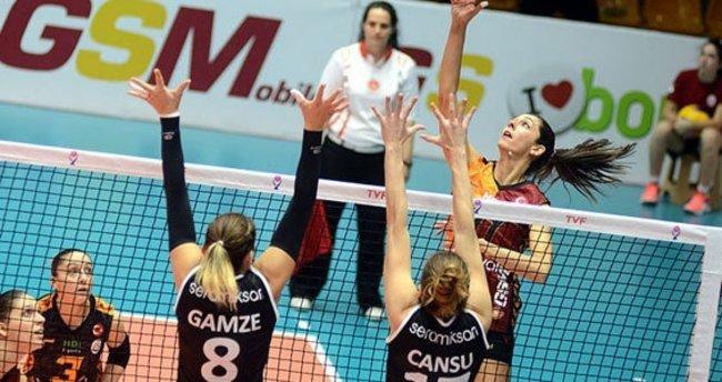 Galatasaray, Seramiksan'ı rahat geçti