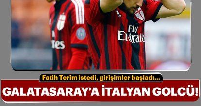 Galatasaray'a İtalyan golcü