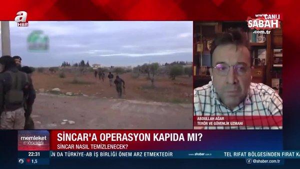 Son dakika: Türkiye Sincar'a operasyon düzenleyecek mi? Abdullah Ağar A Haber'de yorumladı! | Video