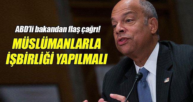 ABD İç Güvenlik Bakanından Müslümanlarla işbirliği çağrısı!