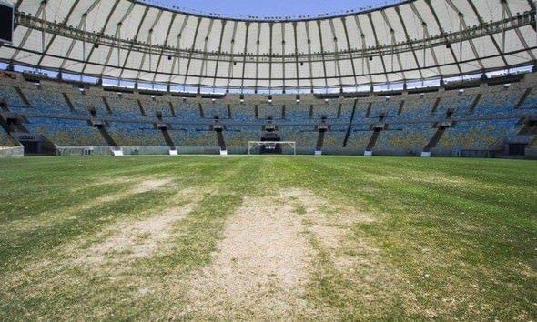 Dünyaca ünlü Maracana Stadı'nı yağmaladılar